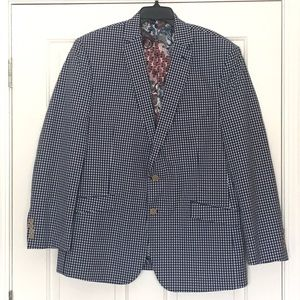 VanHeusen Studio men's cotton blazer